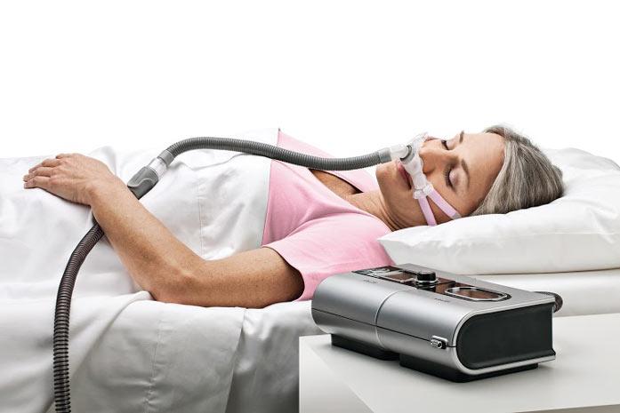استفاده از دستگاه بای پپ در هنگام خواب